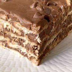 Sweet Desserts, Holiday Desserts, No Bake Desserts, Sweet Recipes, Dessert Recipes, Fun Baking Recipes, Brownie Recipes, Cookie Recipes, Brownie Recipe Video