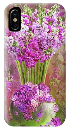 Stocks In Stock Vase IPhone Case for Sale by Carol Cavalaris Art Phone Cases, Iphone Cases, Elegant Flowers, Art Background, Stained Glass Art, Basic Colors, Creative Director, Color Show, Iphone 11
