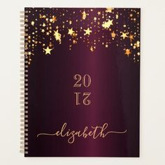 Burgundy gold stars shining monogram 2021 planner Best Planners, Teacher Planner, Drip Painting, Planning Your Day, Burgundy And Gold, Rose Gold Glitter, Gold Stars, Getting Organized, Holiday Cards