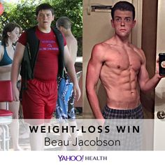 Beau Jacobson is 23 years old, 6 feet 3 inches tall, and currently weighs 200 pounds. This is how he found his way out of that disorder to a healthy lifestyle today.