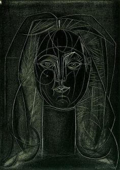 Pablo Picasso (Spanish: 1881 – 1973), Portrait de Françoise Gilot, 1946