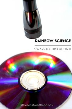 How To Make Rainbows Science Activities To Explore Light STEM