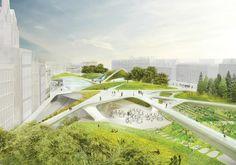 Diller Scofidio + Renfro, Aberdeen, Scotland, architectural competition, international competition, winning design, urban transformation, cultural facilities