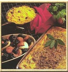 Traditional South African Bobotie recipe - from the Our ED Family Cookbook Family Cookbook South African Bobotie Recipe, Create A Cookbook, Lemon Leaves, Danish Food, Pull Apart Bread, Chutney, Great Recipes, Stuffed Peppers, Traditional