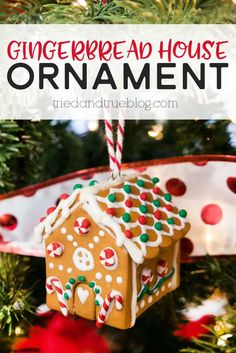 This Gingerbread House Homemade Clay Ornament is a breeze to make and customize! Perfect for kids or craft groups! This Gingerbread House Homemade Clay Ornament is a breeze to make and customize! Perfect for kids or craft groups! Christmas Ornaments To Make, Personalized Christmas Ornaments, Christmas Holidays, Winter Holiday, Christmas Decor, Christmas Ideas, House Ornaments, Clay Ornaments, Homemade Clay