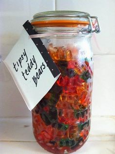 Tipsy Vodka Teddy Bears