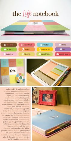 The Life Notebook. So could easily make my own