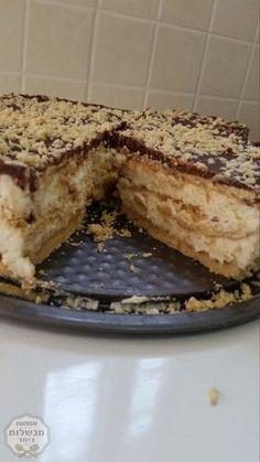 עוגת חלבה נדירהאמאאא כמה שזה טעיםםםקרדיט למתכון של אופירה יחיא❤