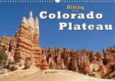 Hiking on the Colorado Plateau, Calendar Sheet: Cover