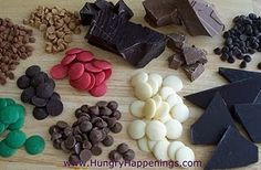 Chocolate, chocolate, and more chocolate. Tips about working with chocolate. Recipes for modeling chocolate Modeling Chocolate Recipes, Types Of Chocolate, Chocolate Molds, How To Make Chocolate, Melting Chocolate, Chocolate Making, Chocolate Candies, Tempering Chocolate, Chocolate Work