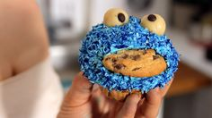 Krümelmonster Muffins Rezept als Back-Video zum selber machen! Ganz einfach Schritt für Schritt erklärt!
