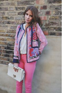 Millie Mackintosh, London, Britain beautiful jacket!