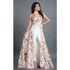 Shop Rachel Allan Dress 8319 for your Prom Sale Indian Designer Outfits, Designer Dresses, Indian Dresses, Indian Outfits, Prom Jumpsuit, Jumpsuit With Train, Bandeau Jumpsuit, Dress Dior, Moda Floral