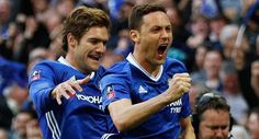 Matic blast caps Chelsea's FA Cup win over Spurs