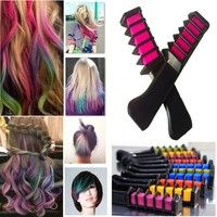 Wish | Disposable Mini Hair Chalk Hair Color Dye Coloring Stick for Party Cosplay