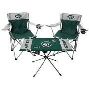 #NFLShop.com - #NFLShop.com New York Jets Rawlings Tailgate Chair And Table Set - AdoreWe.com