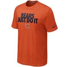 d1817911ff7 Nike Men s Orange Just Do It Tee http   store.chicagobears.com
