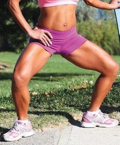 Plie Squats - 8 Exercise That Will Burn Inner Thigh Fat