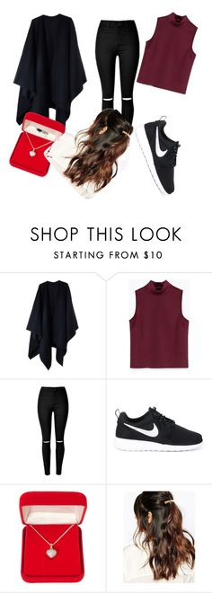 """Untitled #283"" by annabeth999 ❤ liked on Polyvore featuring Acne Studios, Zara, NIKE, Alexa Starr and Suzywan DELUXE"