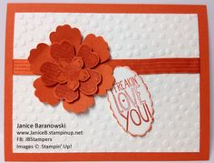 Freakin' Love you Flowers by stampingdietitian - Cards and Paper Crafts at Splitcoaststampers