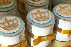 Latas de Leite decoradas - Príncipe