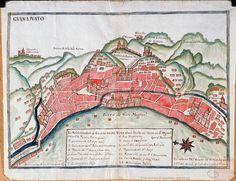 Plano de la Ciudad de Guanajuato -1701- Archivo General de Indias