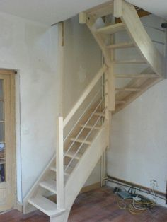 This unique attic stairs is a very inspirational and outstanding idea