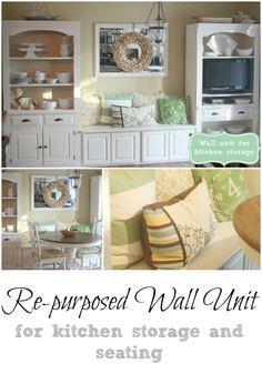 Repurposed Wall Unit