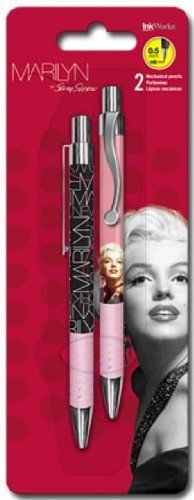 Marilyn Monroe mechanical pencils, Inkworks.
