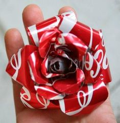 DIY Recycled roses for your sweetheart