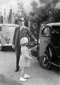 """shirleytemple.com John Griffiths (""""Griff""""), bodyguard, 1935. (Author's private collection)"""