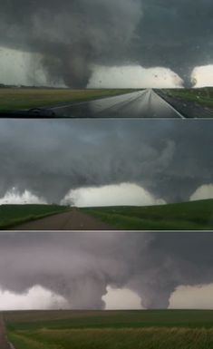 The double tornado that slammed Nebraska June 16th, 2014, was a rare and horrifying sight.