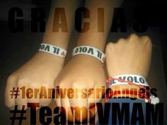 Primer Aniversario #IlVolovers #IVMAM #FamiliaAngels
