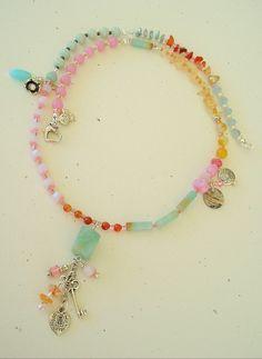 Boho Necklace Bohemian Jewelry Artisan Necklace by BohoStyleMe