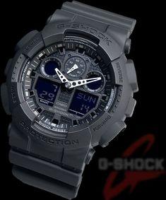 Casio Watches: G Shock GA-100-1A1ER