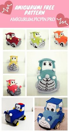 We continue to provide you with the latest recipes related to Amigurumi. Amigurumi classic car free crochet pattern is waiting for you. Crochet Amigurumi Free Patterns, Crochet Toys, Free Crochet, Applique Patterns, Ruby Red, Baby Toys, Crocheting, Classic Cars, Kids Rugs