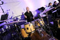 Janez Gabrič - drums    Nina Badric ft. New Festival Orchestra @ Dvorac Otočac, 7.6.2014. #ninabadric #newfestivalorchestra #dvoracotocac