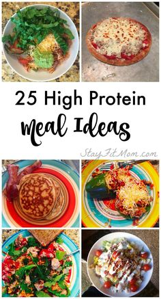 Easy, High Protein Meal Ideas Stay Fit Mom makes Macro Counting so easy with so many ideas for high protein meals.Stay Fit Mom makes Macro Counting so easy with so many ideas for high protein meals. Easy High Protein Meals, Healthy Protein Snacks, Best Protein, High Protein Recipes, Protein Foods, Diet Recipes, Healthy Eating, Healthy Recipes, High Protein Diet Plan