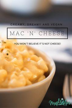 Creamy & Dreamy Macaroni and cheese (vegan)