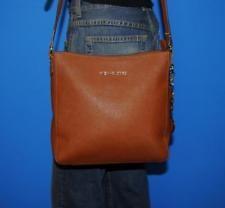 MICHAEL KORS 'Jet Set' Saffiano Brown Leather Small CrossBody Shoulder Tote Bag