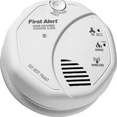 ZWAVE FIRST ALERT SMOKE AND CARBON MONOZIDE ALARM