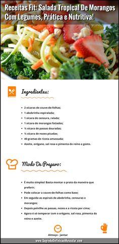 Salada Tropical De Morangos Com Legumes 😉👌  ➡️ https://segredodefinicaomuscular.com/receitas-fit-salada-tropical-de-morangos-com-legumes-pratica-e-nutritiva/  Se gostar da receita compartilhe com seus amigos :)  #saladatropical #receitasfit #receitas  #recipes #fit #receitafit #EstiloDeVidaFitness #ComoDefinirCorpo #SegredoDefiniçãoMuscular
