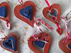 Hanging Hearts £2.00