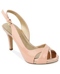 Bandolino Shoes, Sterling Platform Sandals 8.2013