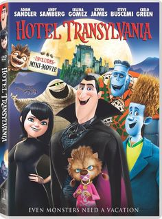 "Hotel Transylvania (PG) Hotel Transylvania ($9) is Dracula's lavish, five ""stake"" resort where monsters and their families can live it up and no humans are allowed. One special weekend Dracula has invited all his best friends, including Frankenstein, his wife the Mummy, the Invisible Man, the Werewolf family, and more to celebrate his beloved daughter Mavis's 118th birthday. The party really starts when one ordinary guy stumbles into the hotel and changes everything!"