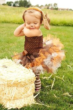 This is supposed to be a puppy but I am doing this next fall with Ryder, not the puppy thing but this tutu is perfect! Plus Ryder has those same leggings in a bigger size so it will work out perfect!! :)