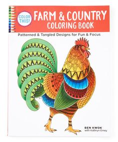 This Color Farm Country Coloring Book Is Perfect Zulilyfinds