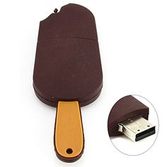 Stylish 16GB Popsicle USB Flash Drive Browness *** Check out this great product.