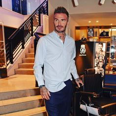 """940.5k Likes, 3,705 Comments - David Beckham (@davidbeckham) on Instagram: """"A great evening launching my new @house99 collection with @harveynicholsmen #house99xhn"""""""