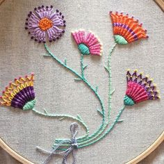 "213 Me gusta, 7 comentarios - Nuria Picos (@nuriapicos) en Instagram: ""Finished #needleweaving #bordado #embroidery #broderie #dmcthreads"""